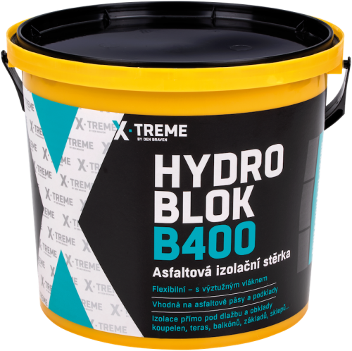 Hydro Blok B400 asfaltová izolační stěrka