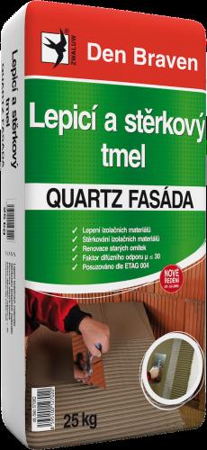Lepicí astěrkový tmel QUARTZ FASÁDA