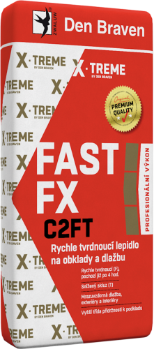 Rychle tvrdnoucí lepidlo na obklady a dlažbu FAST FX C2FT